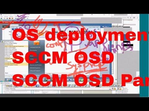 SCCM 2012 training for beginners OSD - Part 1 - YouTube