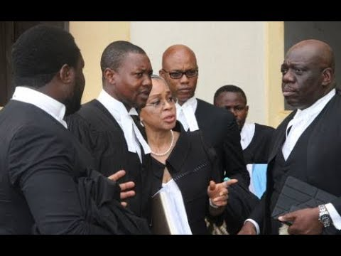 BREAKING: EFCC Arraigns Justice Ofili-Ajumogobia For The Second Time In Three Days