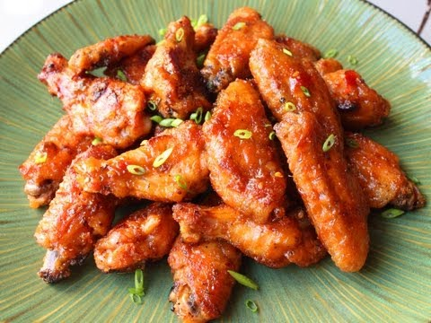 Spicy Peanut Butter & Pepper Jelly Chicken Wings – Superbowl Chicken Wings Recipe