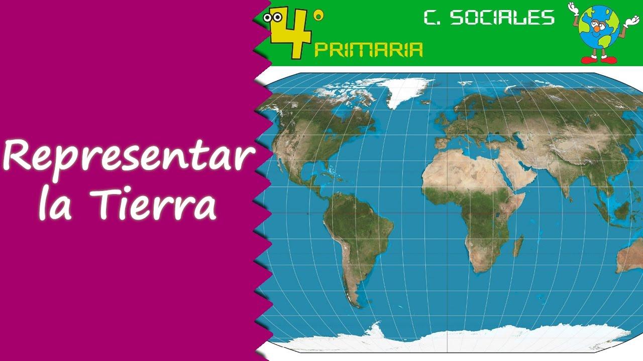 Ciencias Sociales. 4º Primaria. Tema 1. La representación de la Tierra