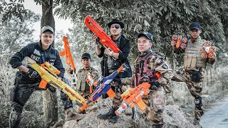 LTT Nerf War : SEAL X Warriors Nerf Guns Fight Criminal Group Dr.Lee Crazy Prison Robbery
