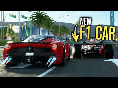 NEW F1 CAR vs Hypercar! - LA to Vegas | The Crew 2