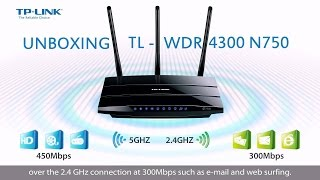 Unboxing Router TP-LINK TL-WDR4300 N750 DUAL BAND