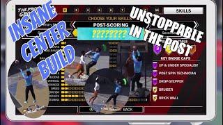 INSANE POST SCORER BUILD! NBA 2K18 OVERPOWERED CENTER Greens From Anywhere Shot Creating Post Scorer
