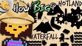 How BIG Is The Underground? Undertale Theory   UNDERLAB