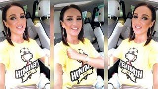 Бузова красиво спела новую песню Чемпион в машине