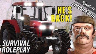 THE MAD MAN  | Survival Roleplay | Farming Simulator 17 - Letton Farm - Ep 12