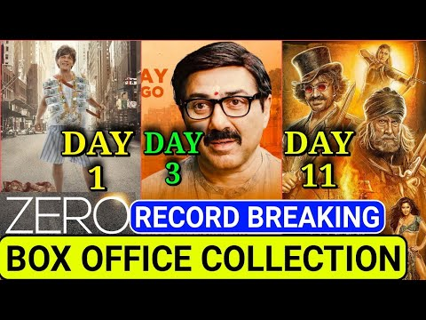 Mohalla assi 3rd Day Box office collection,Thugs of Hindostan total Collection,Zero 1st day collect