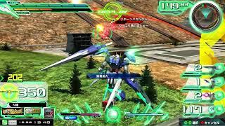 熟練度15 大将星3 ダブルオーガンダム セブンソード/G 【猛者の戦い ガンダム EXVSMBON マキブオン 高画質】