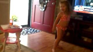 Blair singing california girls katy perry