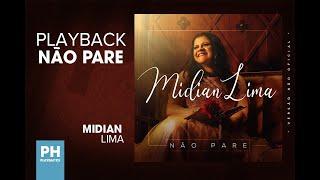 Playback   Midian Lima Não Pare