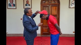 I support you, Uhuru tells Mariga - VIDEO