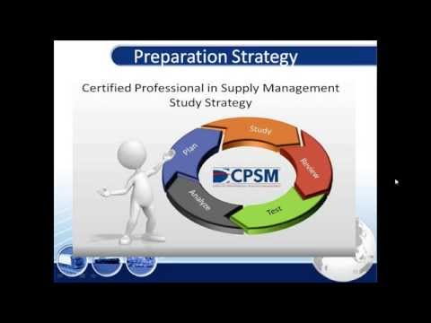 Practical Tips for CPSM Exam 1 (Foundation of Supply Management ...