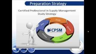 Practical Tips for CPSM Exam 1 (Foundation of Supply Management )