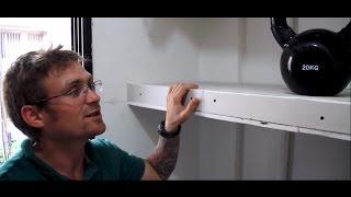 איך בונים מדף גבס