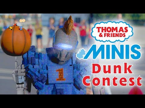 Basketball Dunk Contest with MINIS   Playing around with Thomas & Friends   Thomas & Friends