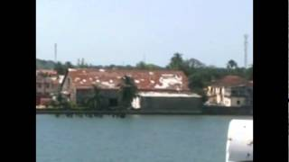 preview picture of video 'Ferry from Dakar to Ziguinchor'