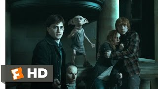 Harry Potter And The Deathly Hallows: Part 1 (45) Movie CLIP   Escape From Malfoy Manor (2010) HD