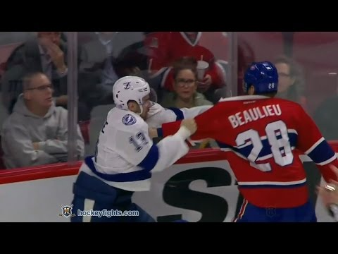 Nathan Beaulieu vs. Cedric Paquette