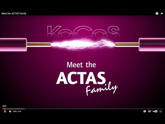 The ACTAS Family at Electricity Forum