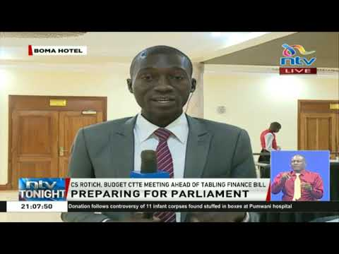 CS Rotich meets the budget committee ahead of tabling Finance Bill