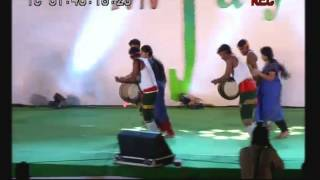 Super Rhythemic Music Video of Tamil folt Parayattam (Thappattam) by Students