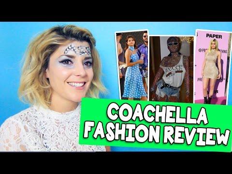 COACHELLA FASHION REVIEW // Grace Helbig