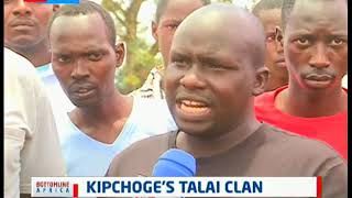 Kipchoge's Talai Clan: In the Kenyan history the Talai clan of the Nandi are known to be runners