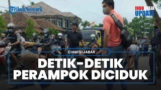 Viral Video Detik-detik Perampok Rp561 Juta Ditangkap, Ditembaki Berkali-kali Pria Berbaju Preman