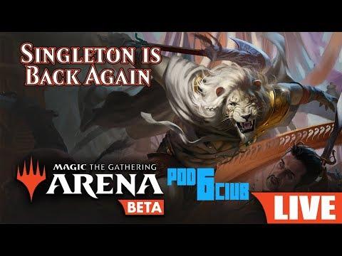 Grixis SuperFriends Singleton Challenge - MTG Arena - смотреть
