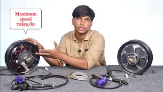 Hub Motor Kit For DIY PROJECT  || Creative Science