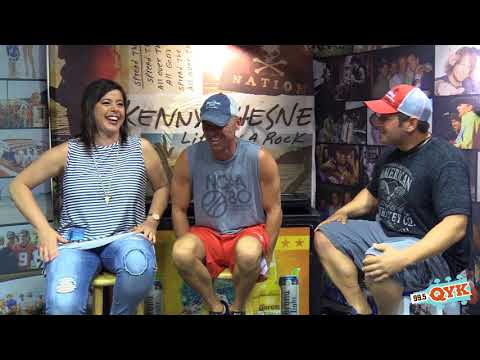 Marc & Veronica Interview Kenny Chesney
