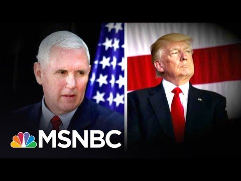 Lawrence: Mike Pence Is The Most Dangerous Man In America For Donald Trump | The Last Word | MSNBC
