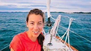 The LAKE MICHIGAN Crossing   Sailing Soulianis - Ep. 10