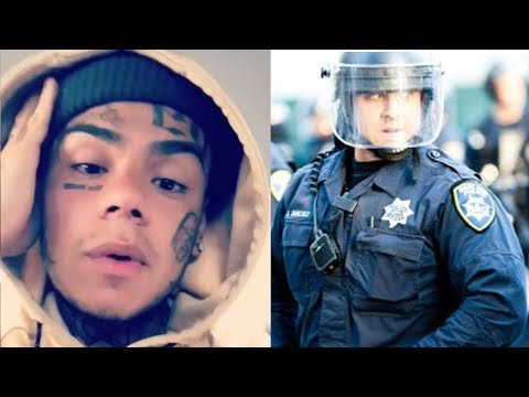 6ix9ine Kicked From Summer Jam 2018 by Police