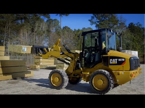Cat® 906M, 907M, 908M Compact Wheel Loaders Overview