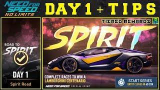 NFS No Limits | Blackridge Spirit Festival - Lamborghini Centenario | Day 1 + TIPS