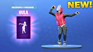 *NEW* HULA DANCE EMOTE! - Fortnite Battle Royale Item Shop July 16!