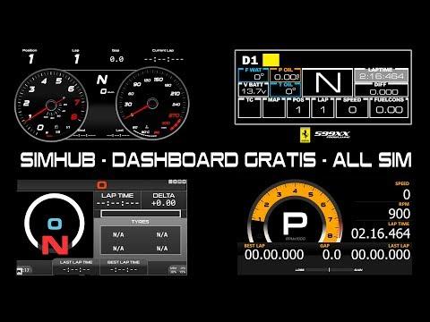 Download Simhub Dashboard Gratis All Sim | Dangdut Mania