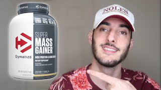DYMATIZE SUPER MASS GAINER REVIEW | Walmart Protein
