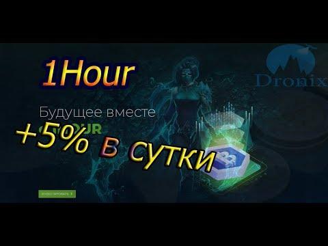 SCAM! 1hour.biz зарабатывай +5% профита ежедневно