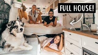 3 PEOPLE + A DOG LIVING IN A VAN   Van Life in Canada