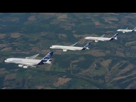 Airbus ultrapassa Boeing em encomendas