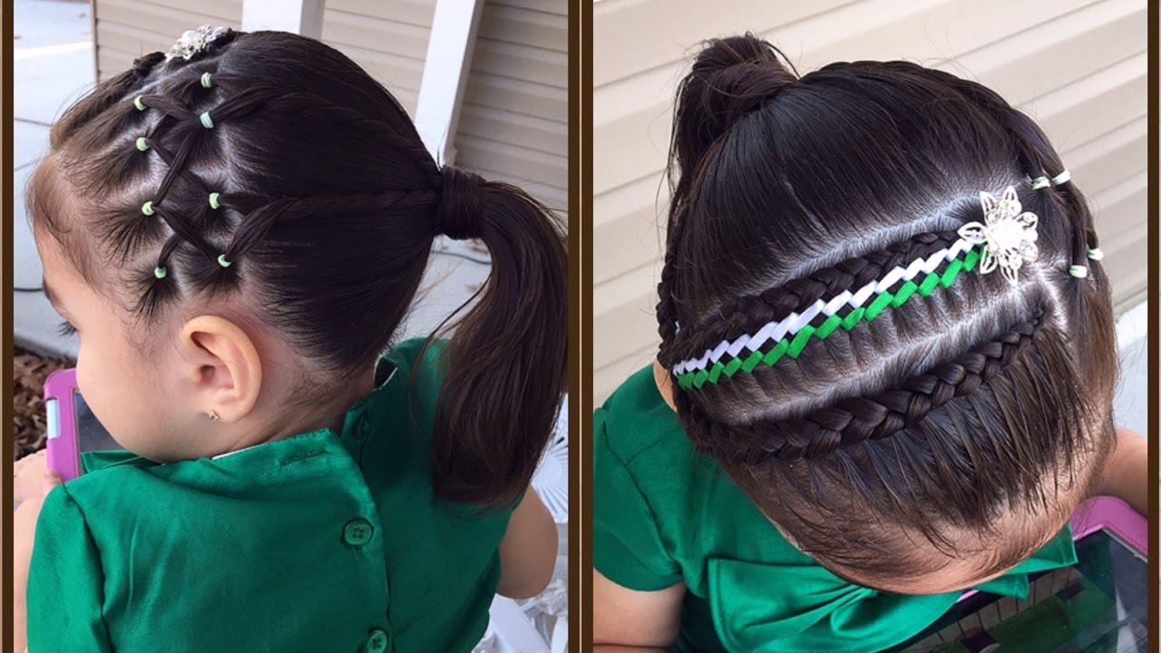 Peinados Con Trenzas Para Nia Faciles Cool Stunning Imagen Elegante