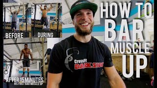 How to BAR MUSCLE UP if you have the strength