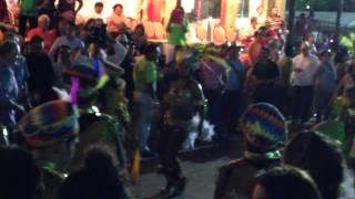 preview picture of video 'Carnaval Ciudad del Carmen, Camp, Mexico. 2014 (Batucada Do Guanal & Cierre de Carnaval)'