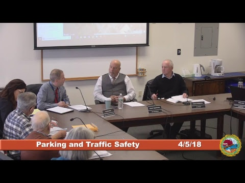 Parking and Traffic Safety Committee 4.5.2018