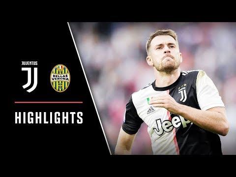 HIGHLIGHTS: Juventus vs Hellas Verona - 2-1 - Aaron Ramsey scores home debut goal!