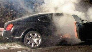 Luxus Bentley Explodiert