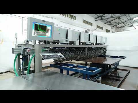 Automated Ultrasonic Plate Inspection System